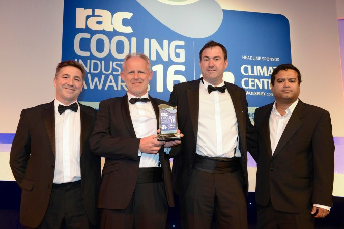 RAC Cooling Awards 2016